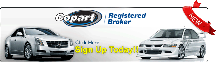 Copart Salvage Auctions Authorized Broker